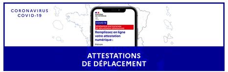 Attestations de déplacement L actu du Ministère Actualités Ministère de l Intérieur.png